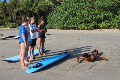 Surf lessons - CAS Surfcamps